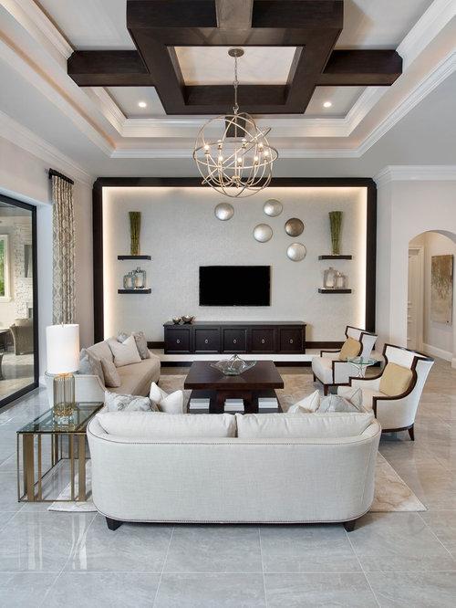 klassische wohnzimmer mit kalksteinboden ideen design. Black Bedroom Furniture Sets. Home Design Ideas