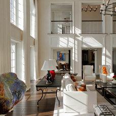Contemporary Living Room by Bon Vivant