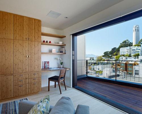 Salon moderne porte placard en bois photos et id es d co for Porte de salon moderne