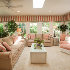 Tropical Living Room by Furnitureland South