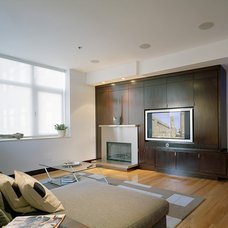 Contemporary Living Room by Chris Johnson