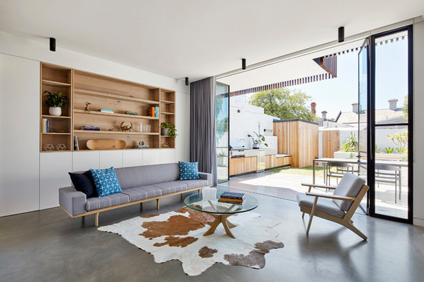 Contemporary Living Room by Dimpat