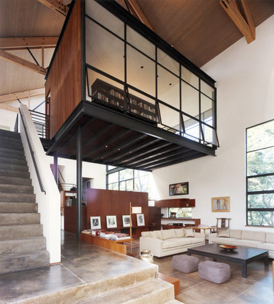 Contemporain Salon by SKOLNICK Architecture & Design Partnership