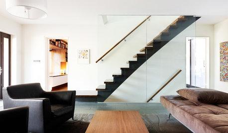 Queste Ringhiere Moderne per le Scale Migliorano Tutto l'Ambiente