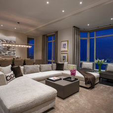 Contemporary Living Room by Michael Abrams Limited