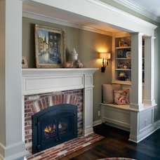 Traditional Living Room by Braden Construction, Inc.