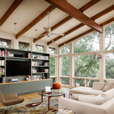 Modern Living Room by Furman + Keil Architects