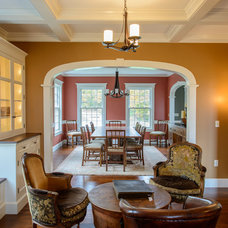 Traditional Living Room by Vermont Vernacular Designs