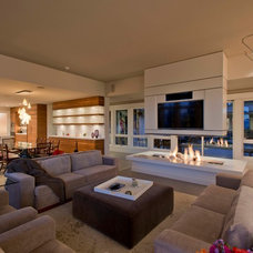 Contemporary Living Room by Indivar Sivanathan
