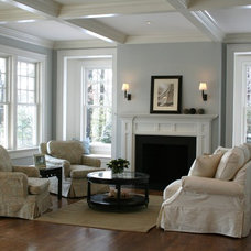 Traditional Living Room by JB Robbie Builders Inc.