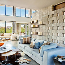 Contemporary Living Room by PHX Architecture