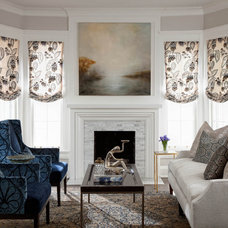 Traditional Living Room by Buckingham Interiors + Design LLC