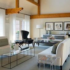 Contemporary Living Room by Plum Interiors