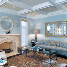 Traditional Living Room by Bardes Interiors