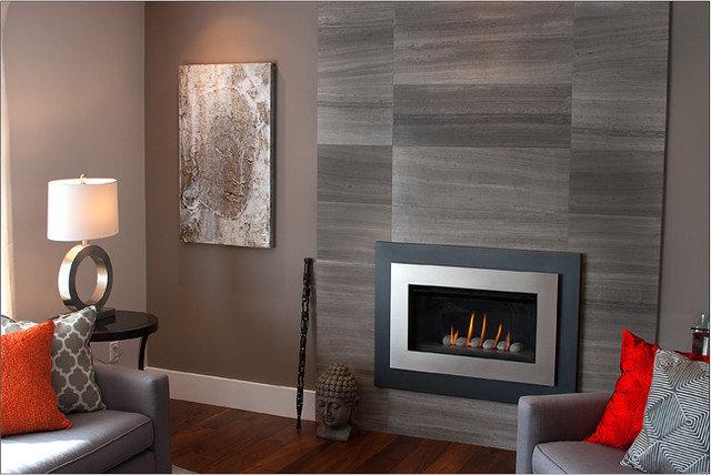 Contemporary Living Room by P. Rogers Designs.com