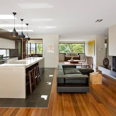 Contemporary Living Room by Roth Architecture