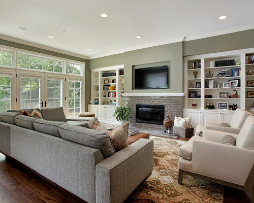 Neutral color palette design ideas remodel pictures houzz for Neutral palette living room