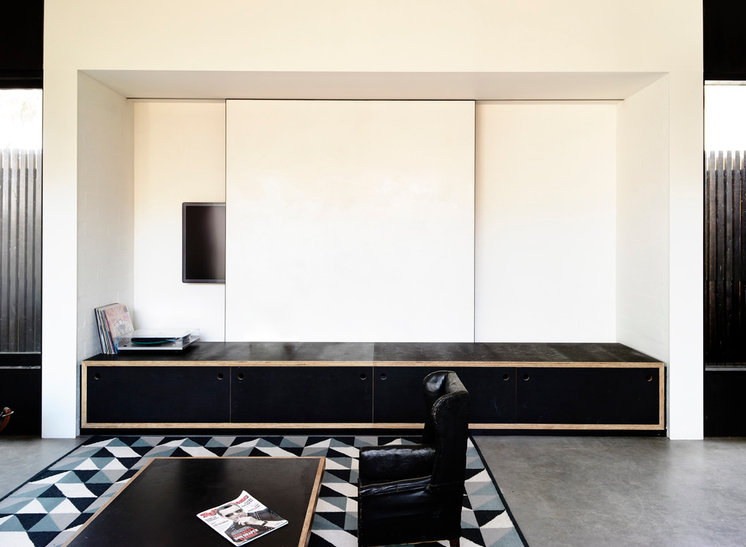 Contemporary Living Room by Wolveridge Architects