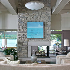 Contemporary Living Room by Scott Christopher Homes/Surpass Renovations