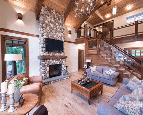 Faux River Rock Panels Home Design Ideas Pictures