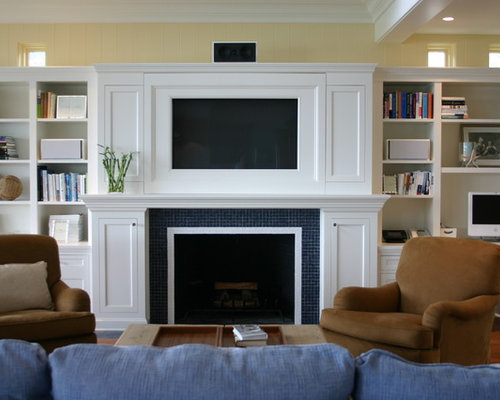 Built In Tv Home Design Ideas Pictures Remodel And Decor