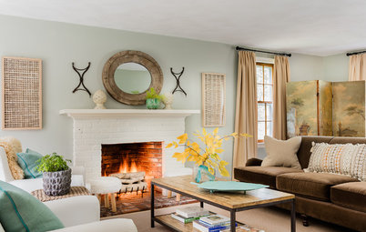 Houzz Tour: Perfection Just Out of Reach in an Eclectic Colonial