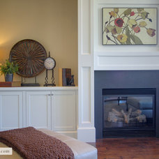 Traditional Living Room by Room Solutions Staging