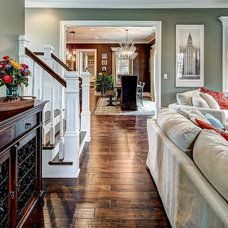 Traditional Living Room by The Ramage Company