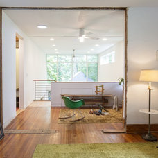 Contemporary Living Room by Wakako Tokunaga Architecture