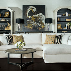 Eclectic Living Room by High Fashion Home