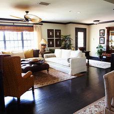 Mediterranean Living Room by Bridget McMullin, ASID, CID, CAPS