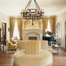 Traditional Living Room by Francois & Co