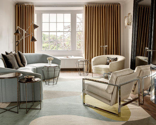 living room design traditional. This is an example of a classic formal living room in London with white  walls Traditional Living Room Design Ideas Pictures Inspiration