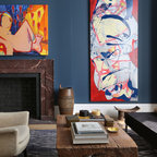 Suburban Home Traditional Living Room Dc Metro By