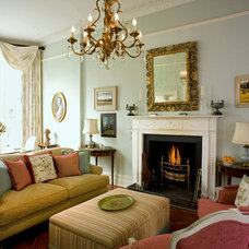 Traditional Living Room by Helene Dabrowski Interiors