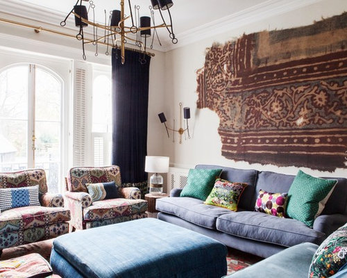 Design Ideas For An Eclectic Living Room In London. Part 74