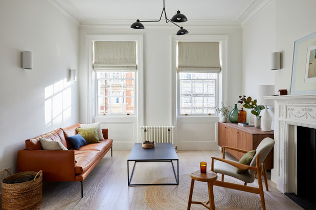 Midcentury Living Room by Imperfect Interiors