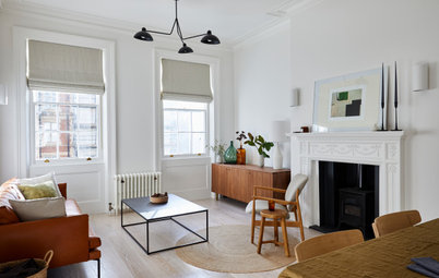 Houzz Tour: A Redesign Makes a Period Flat Feel Spacious