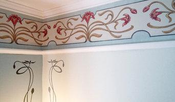 Nouveau Wallpaper Border