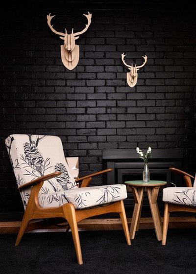 Contemporary Living Room by Maxa Design