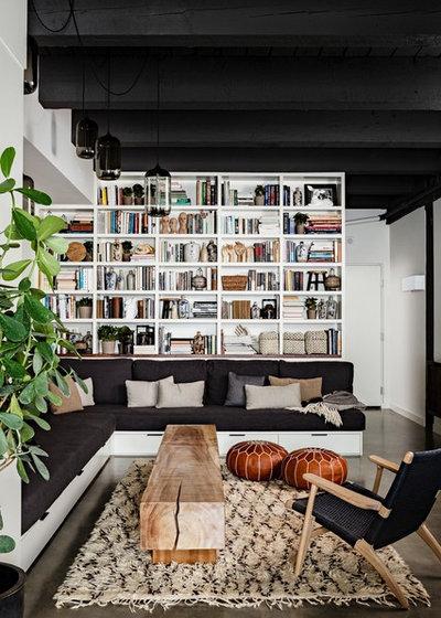 Industrielt Dagligstue by Jessica Helgerson Interior Design