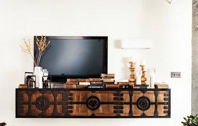 ヴィンテージのような風格を醸し出す、和の家具とアイテム