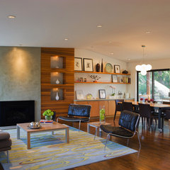 modern living room by Vanillawood