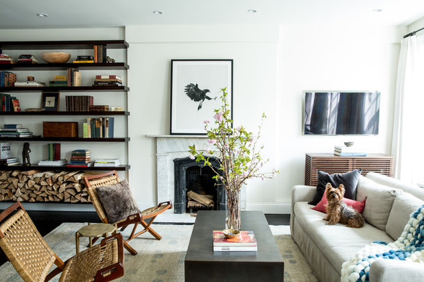Houzz tour new york apartment redesign cooks up good looks for Eclectisch interieur