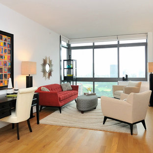 Example of a living room design in New York