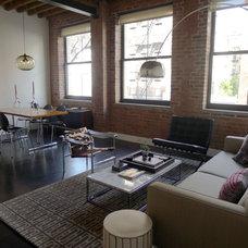 Modern Living Room by Elemental Interiors