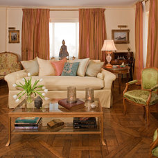 Traditional Living Room by Sequined Asphault Studio Photography