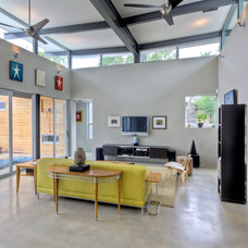 Contemporary Living Room by Adam Wilson Custom Homes