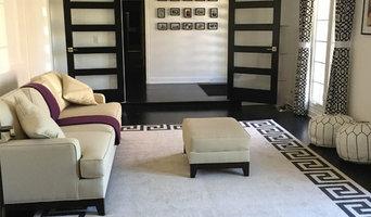 Oak Floor Stained Sable Black