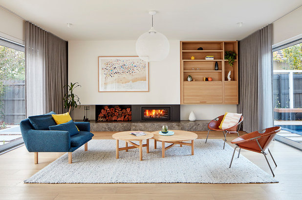 Contemporary Living Room by Bryant Alsop Architects